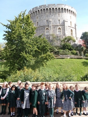 School Trip to Windsor Castle