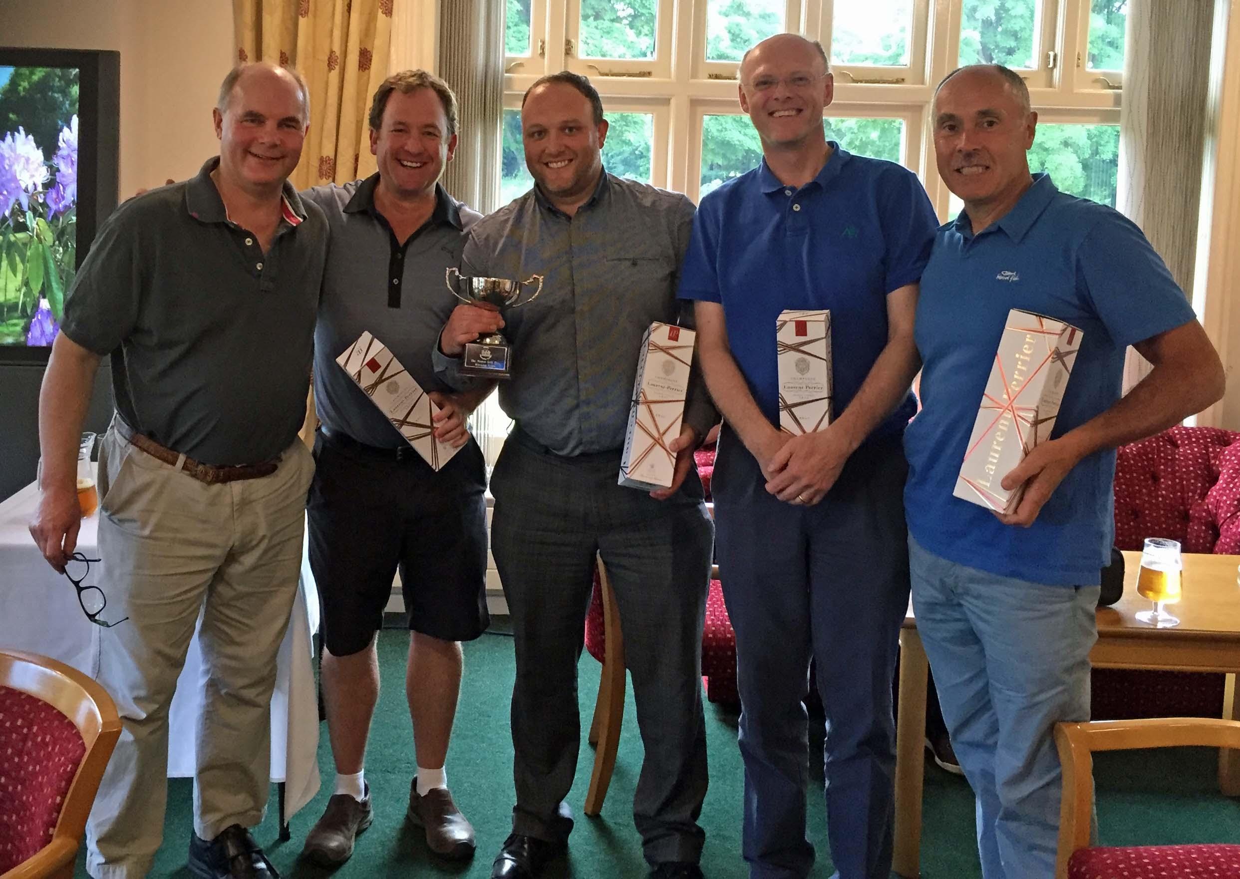 Manor Golf Day Winners 2016