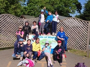 school trip to the Isle of Wight