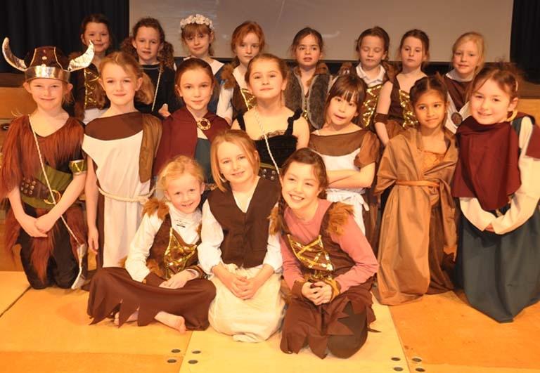 Vikings at The Manor