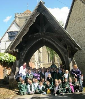 school trip to Dorchester abbey